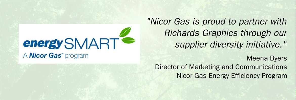 Testimony from Meena Byers of Nicor Gas Energy Efficiency program. 