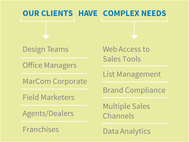 Our Clients Have Complex Needs