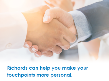 Make your touchpoints more personal.